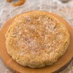 Healthy Grain Free Cinnamon Bun Protein Cookies