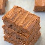 Healthy Grain Free Double Chocolate Blondies