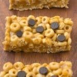 Healthy 4 Ingredient No Bake Protein Cereal Bars