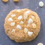 Healthy White Chocolate and Macadamia Protein Cookies + Protein Giveaway