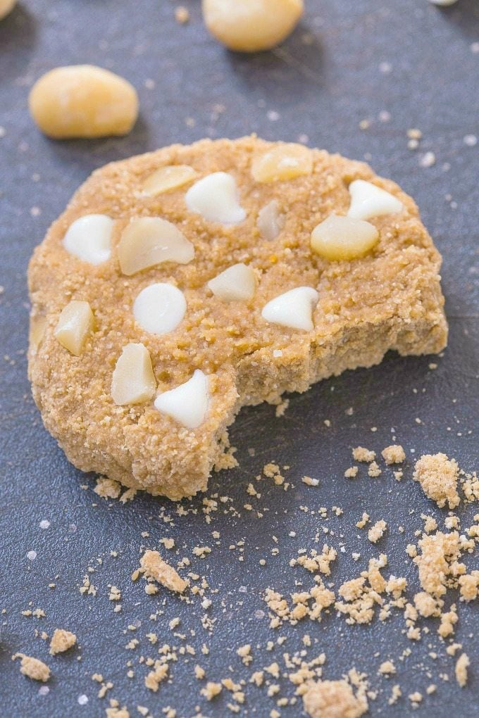 cookies with white chocolate chips and macadamia nuts