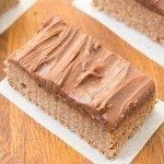 Healthy No Bake Chocolate Fudge Protein Bars