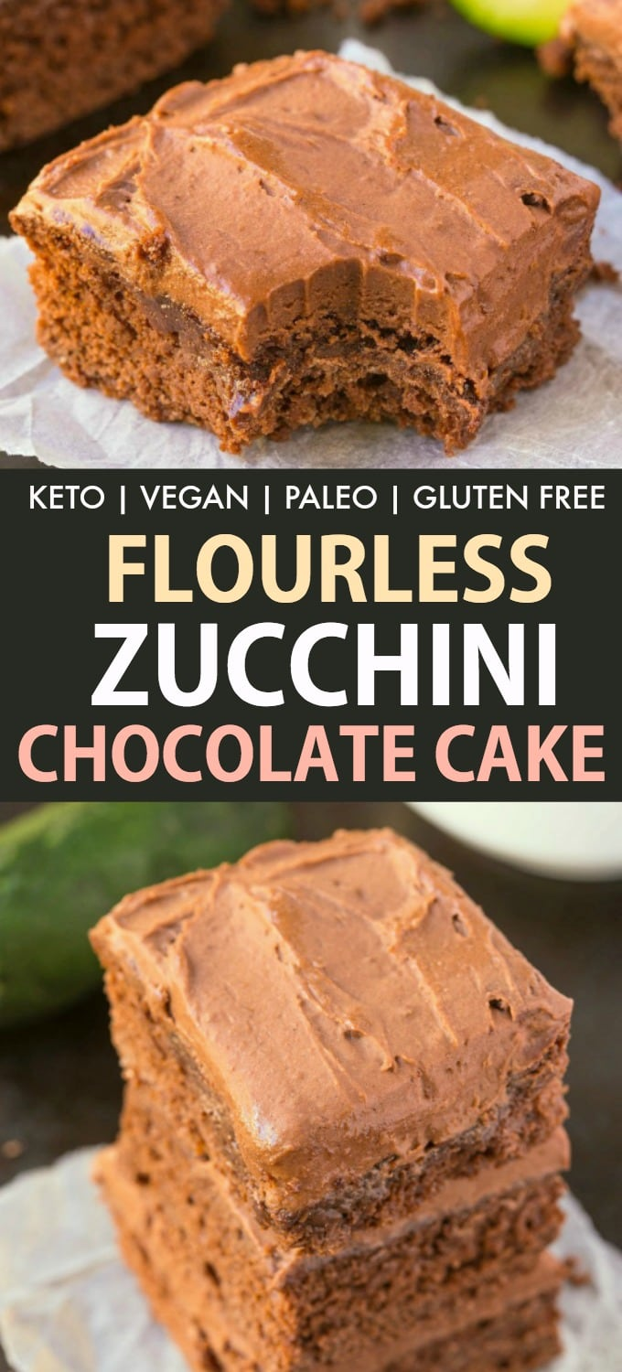 The BEST chocolate zucchini cake recipe ever, which is secretly healthy- NO grains, NO sugar and completely paleo, vegan, gluten free and keto.