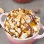 Healthy Snickers Overnight Oats