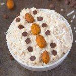 Healthy Almond Joy Overnight Oats