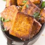 3 Ingredient Spicy Barbecue Tofu