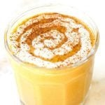 Healthy Warm Sticky Cinnamon Roll Smoothie