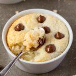 Keto Vanilla Mug Cake Recipe