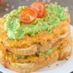 Smashed Sweet Potato and Avocado Toast