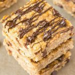 Healthy 3 Ingredient Flourless Banana Bread Bars
