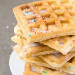 Healthy Fluffy Low Carb Vanilla Waffles