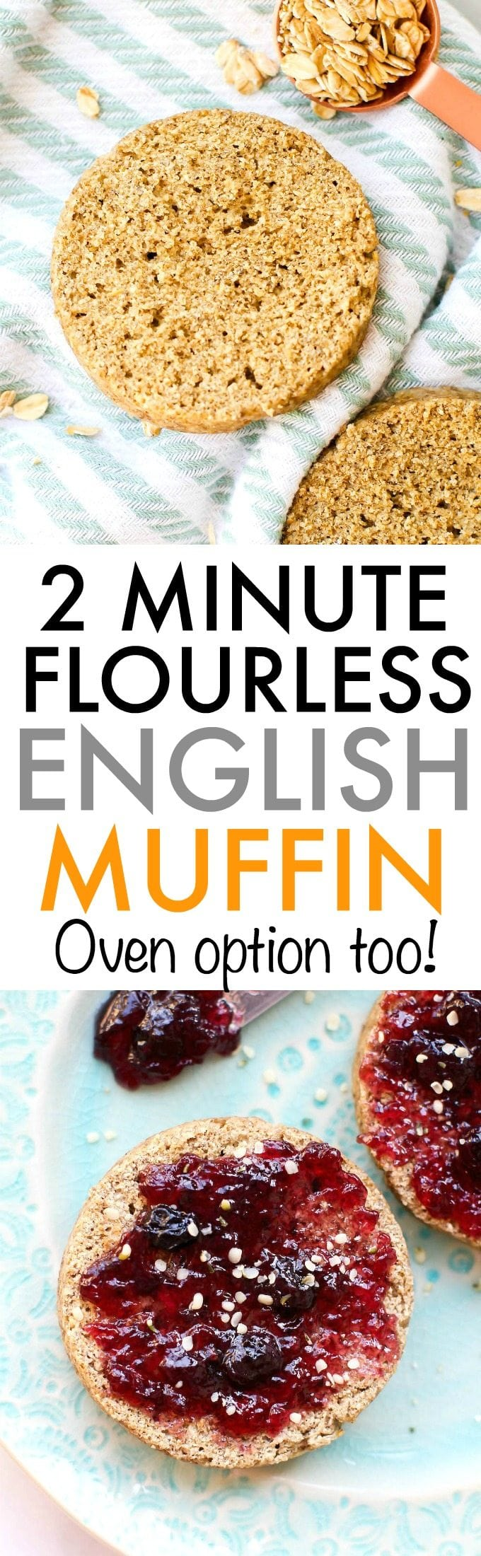 2 minute flourless english muffin forumfinder Image collections