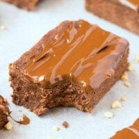 nutella breakfast brownies