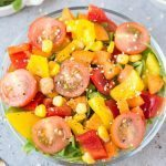 Sesame Crunch Salad (Paleo, Vegan, Gluten Free)
