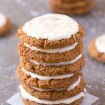Healthy Cinnamon Bun Breakfast Cookies