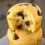 5 Ingredient Chocolate Chip Protein Muffins (Low Carb, Vegan, Paleo)