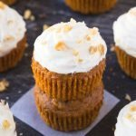 Healthy Flourless Carrot Cake Breakfast Muffins