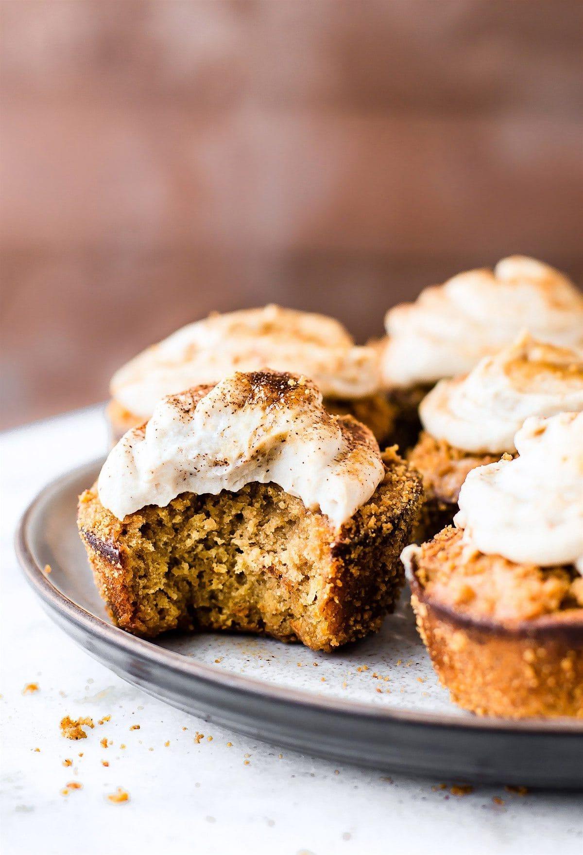 Flourless Peanut Butter Churros Muffins