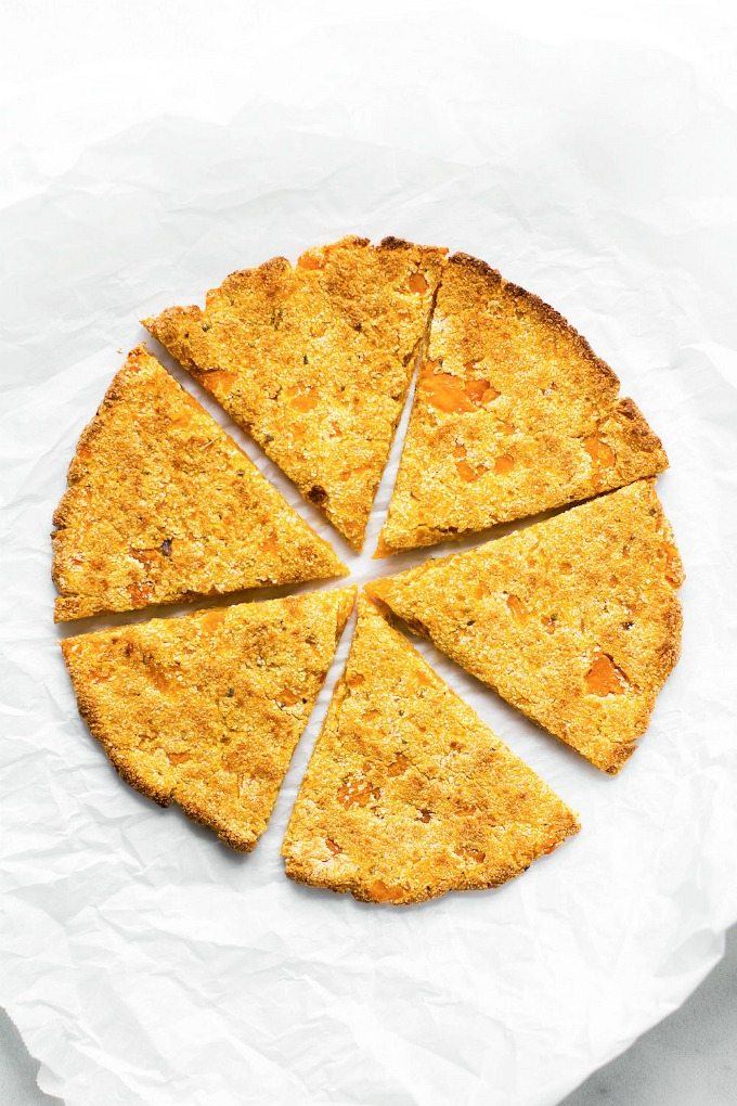 Sweet Potato Pizza Crusts