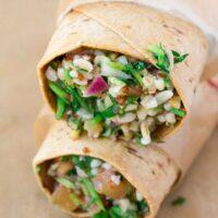Superfood Salad Wraps