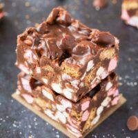 marshmallow crunch bars