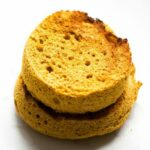 2 Minute Flourless Pumpkin English Muffin (Paleo, Vegan, Gluten Free)