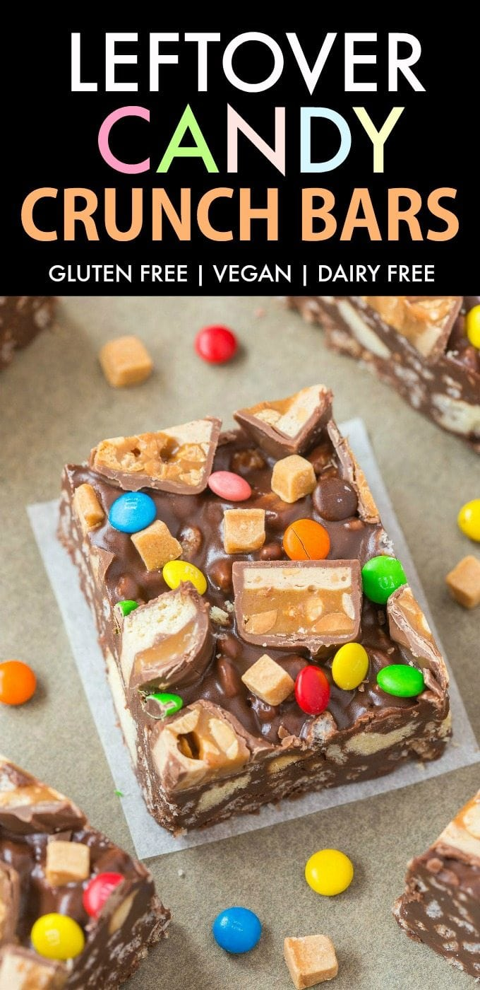 homemade candy bar crunch bars recipe