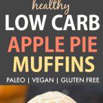 Healthy Low Carb Apple Pie Muffins (Paleo, Vegan, Gluten Free)