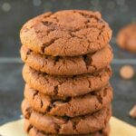 4-Ingredient Flourless Keto Chocolate Cookies (Paleo, Vegan, Low Carb, Sugar Free, Gluten Free)-An easy recipe for soft and chewy cookies using just 4 ingredients! Easy, healthy, delicious low carb high protein cookies which take less than 12 minutes to whip up! #keto #ketodessert #flourless #cookies | Recipe on thebigmansworld.com