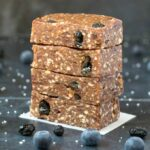 no bake blueberry muffin bars