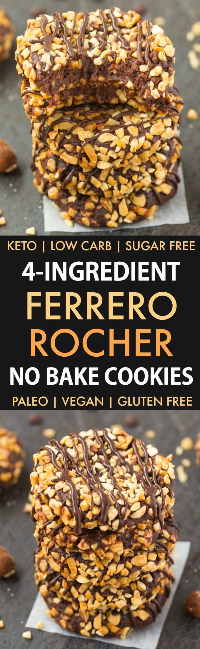 No Bake Paleo Vegan cookies