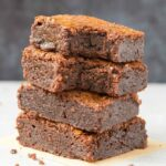 Easy 3-Ingredient Keto Low Carb brownies