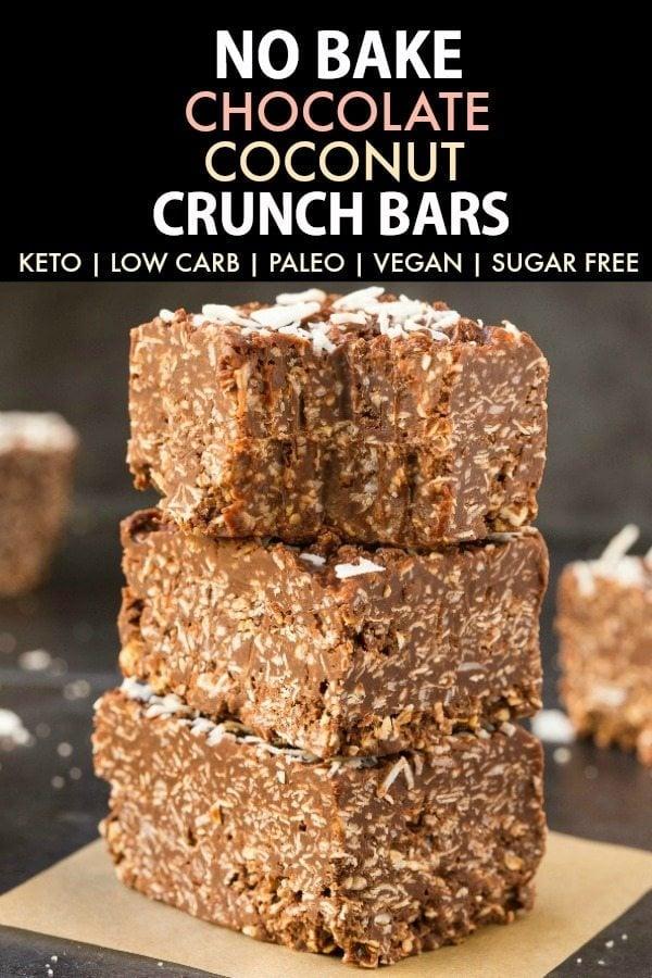 No-Bake Peanut Butter Crunch Bars