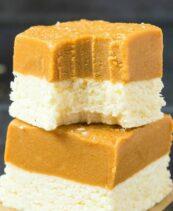 peanut butter coconut butter fat bombs