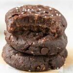 4-Ingredient No Bake Brownie Cookies
