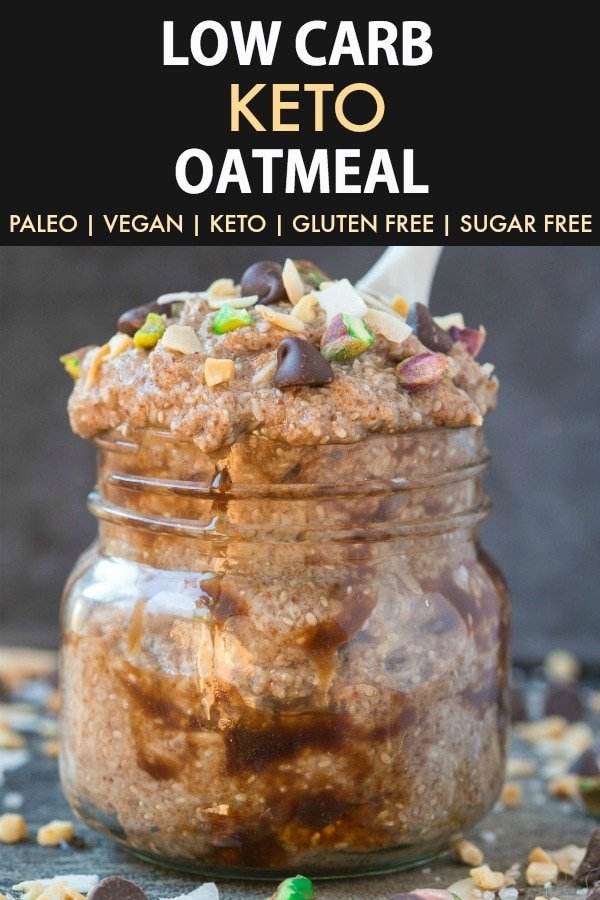 Low Carb Keto Oatmeal