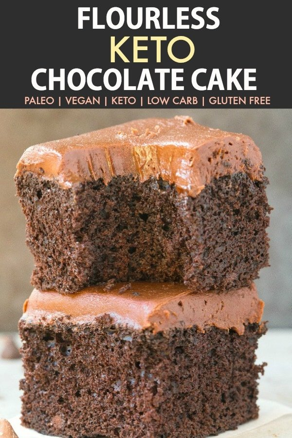 Flourless Chocolate Cake Recipe Low Carb