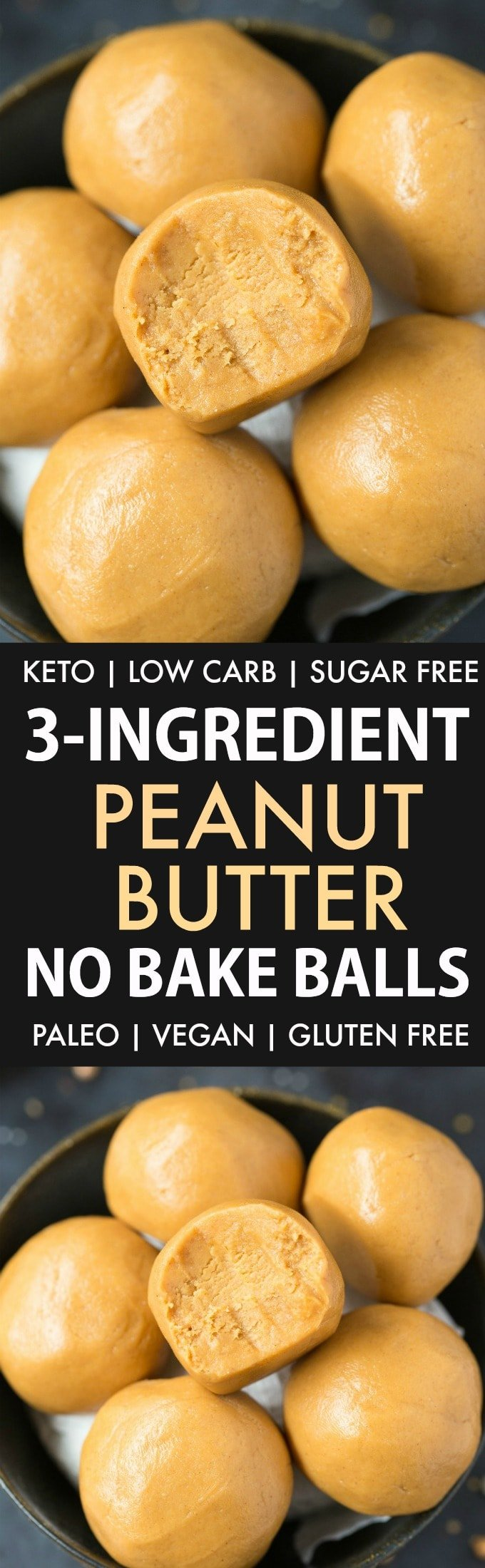 Easy Peanut Butter Balls No Bake Without Chocolate