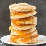 Flourless Paleo Vegan Pumpkin Spice Pancakes (Keto, Low Carb)