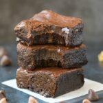 Fudgy Paleo Vegan Pumpkin Brownies (Keto, Low Carb)