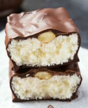 Keto Homemade Almond Joy Bars
