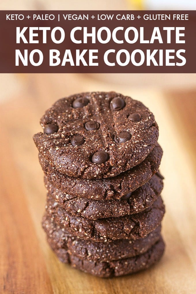 keto no bake chocolate cookies without coconut and without peanut butter