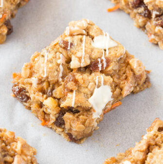 Healthy Carrot Cake Baked Oatmeal Recipe