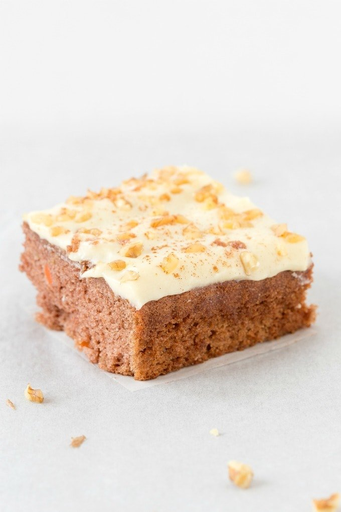 Low Carb Keto Carrot Cake With dairy free cream cheese frosting