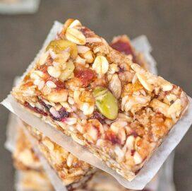 no bake vegan granola bars