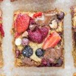 Easy flourless breakfast casserole is a vegan, gluten free, paleo and keto breakfast bake!