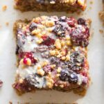 The best healthy blueberry crumble bars recipe