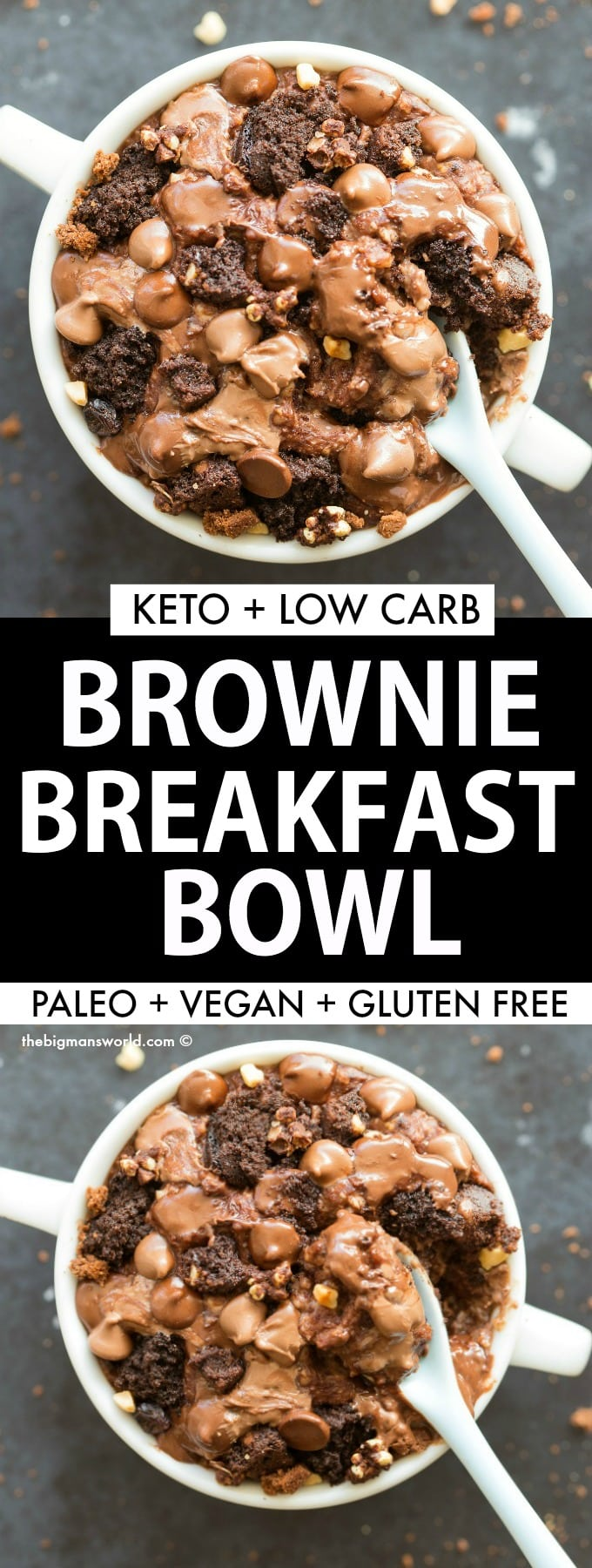 How to make protein oatmeal that tastes like brownie batter!