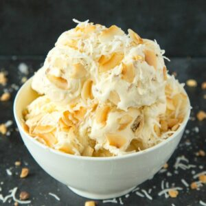 Creamy no churn coconut milk ice cream
