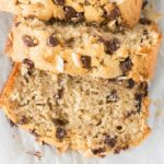 Toasted Coconut Banana Bread Recipe that is healthy, easy, moist and tender!